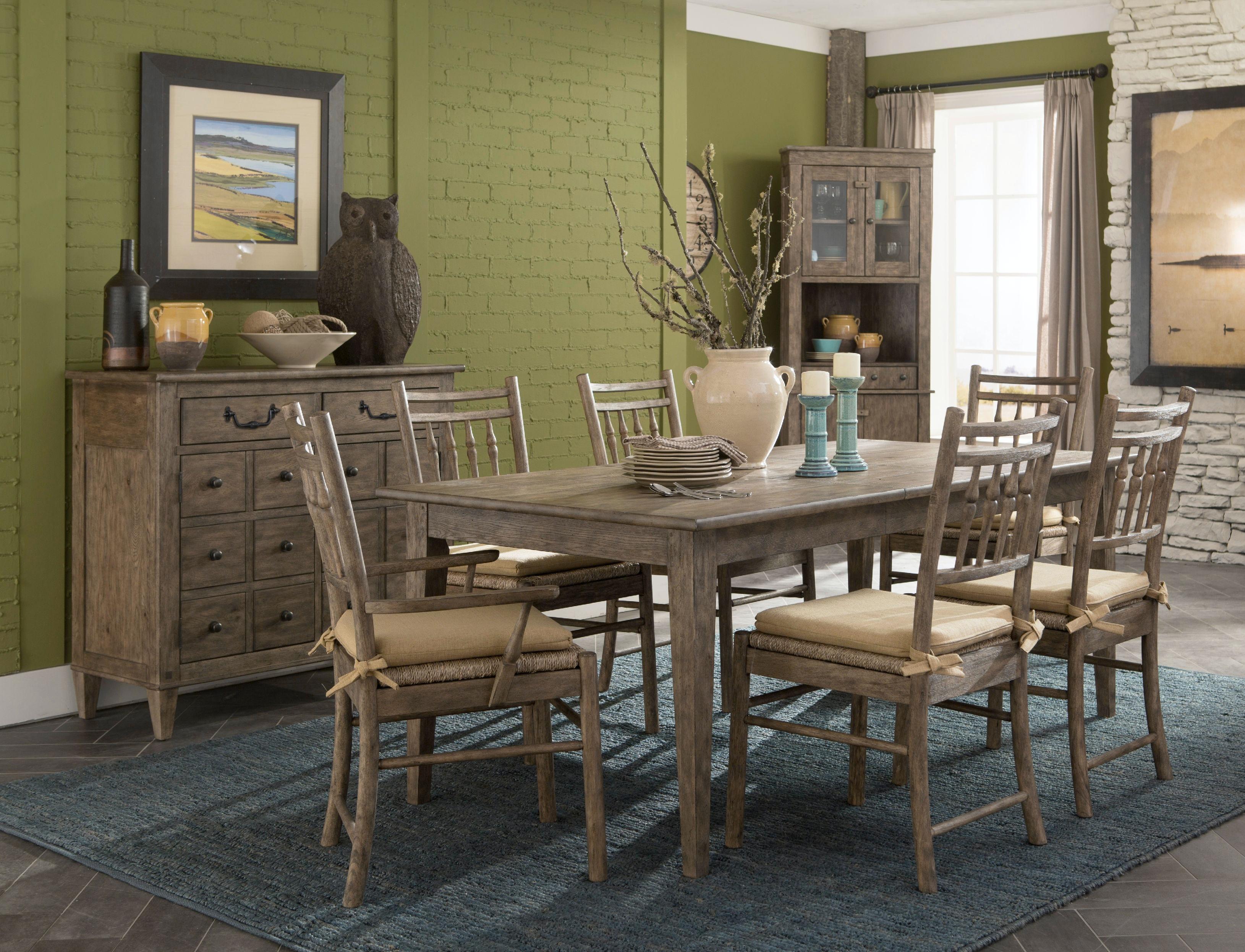 carolina preserves dining room table 451-078 drt - klaussner