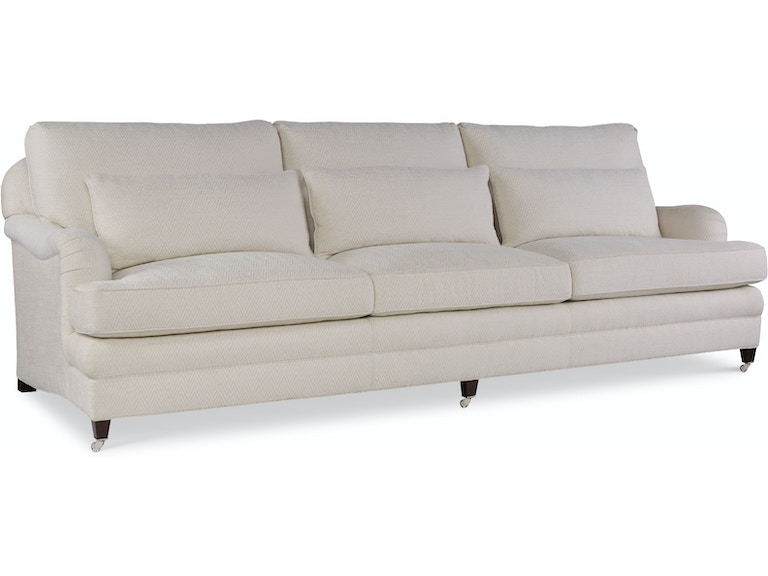 EJ Victor Living Room Exeter Sofa (Exposed Leg with Casters Version ...