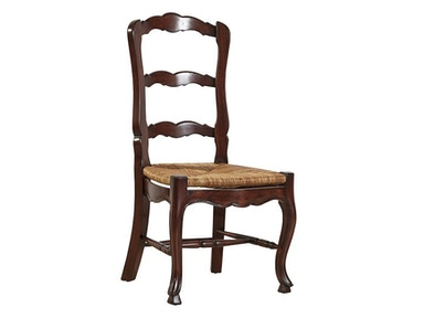 Furniture Classics Country French Ladderback Side Chair 1144PA