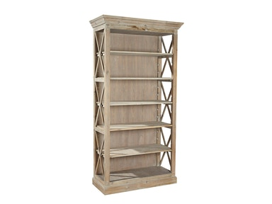 Furniture Classics Weathered Open Bookcase 20-024