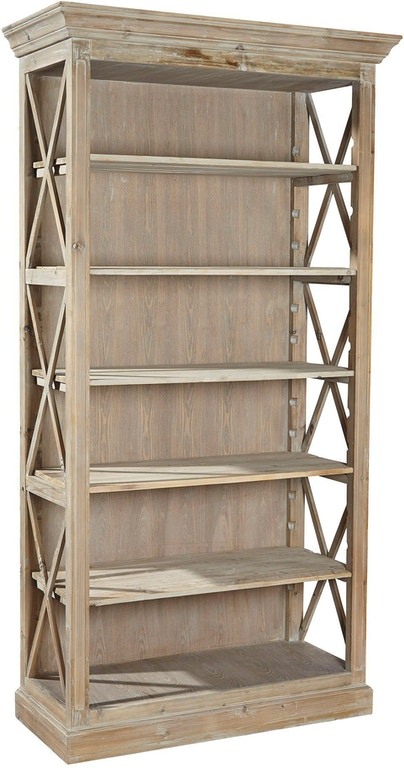 Furniture Classics Home Office Weathered Open Bookcase 20