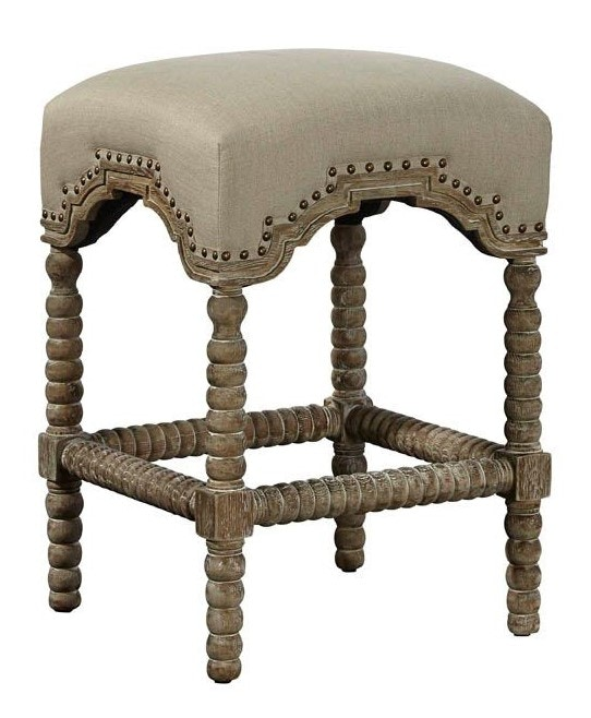 Furniture Classics Backless Castle Counter Stool 20 035C
