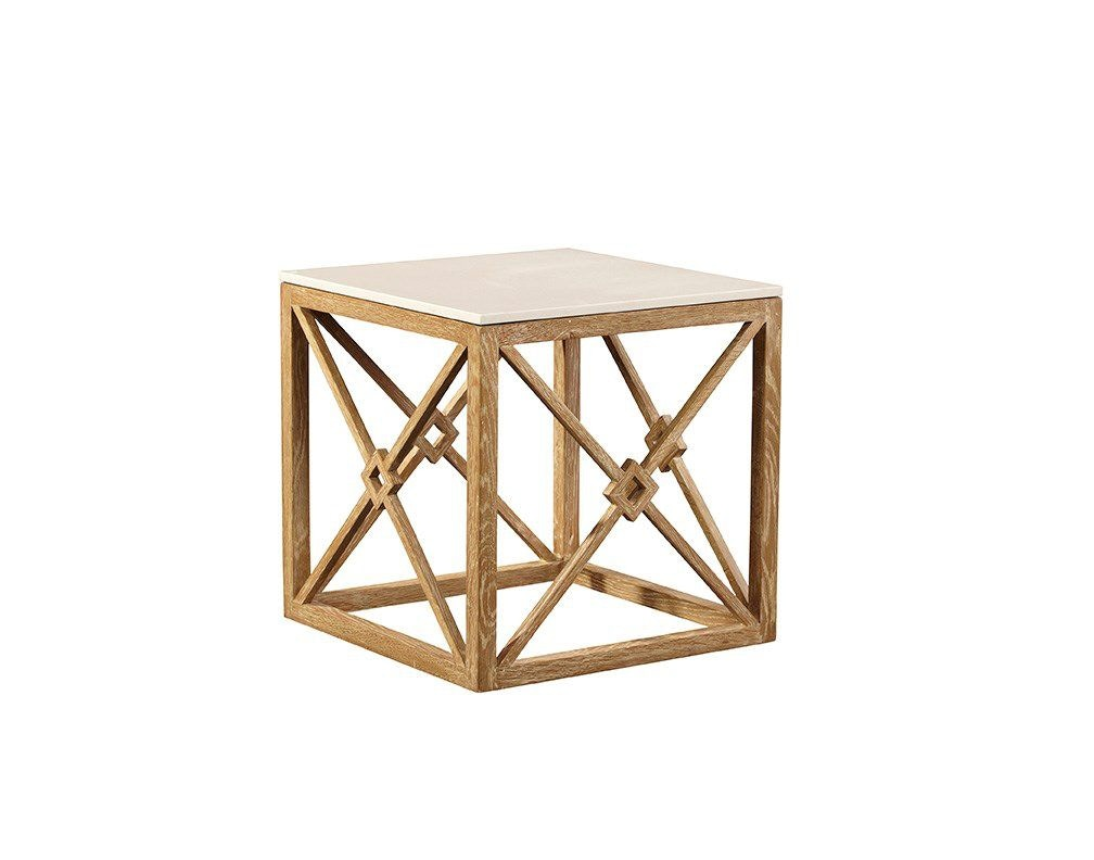 Exceptionnel Furniture Classics White Marble Side Table 20 114 Available To Order At  Flemington Department Store