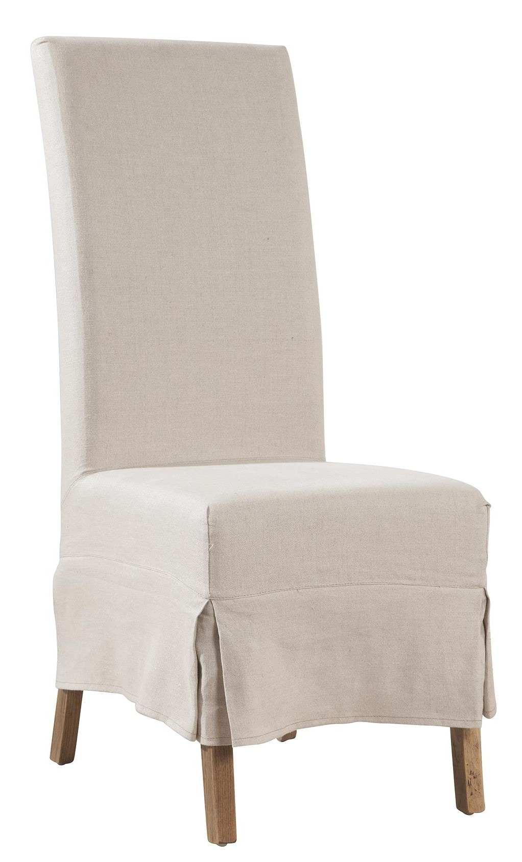 Furniture Classics Linen Slip Covered Parsons Chair 70018