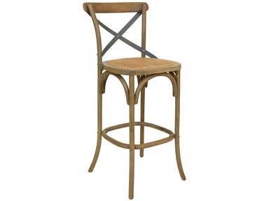 Furniture Classics Bentwood Bar Stool with Metal Back 70025DW