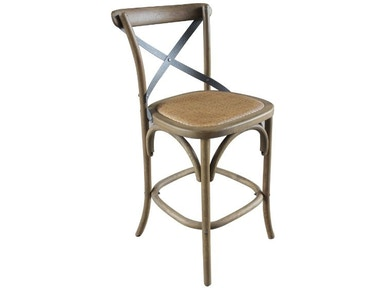 Furniture Classics Bentwood Counter Stool With Metal Back 70026DW