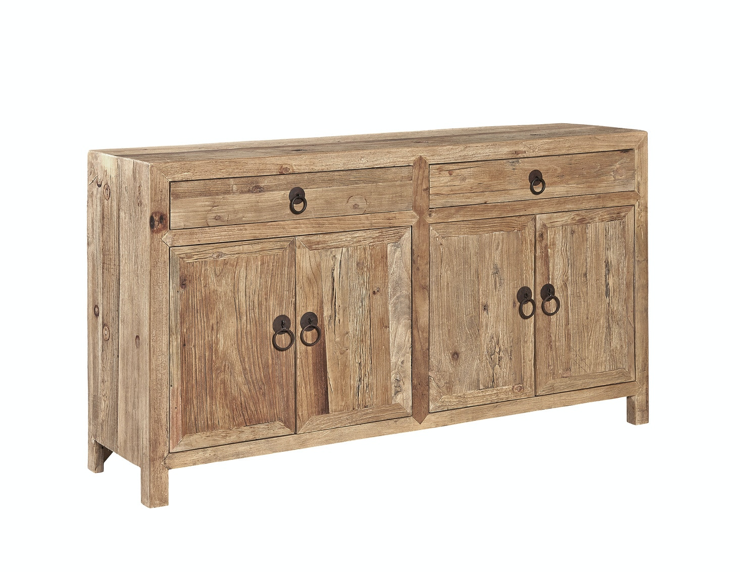 Attirant Furniture Classics Old Elm Sideboard 71061