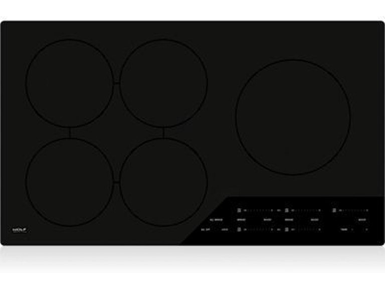 Wolf 36 Contemporary Induction Cooktop Ci365cb