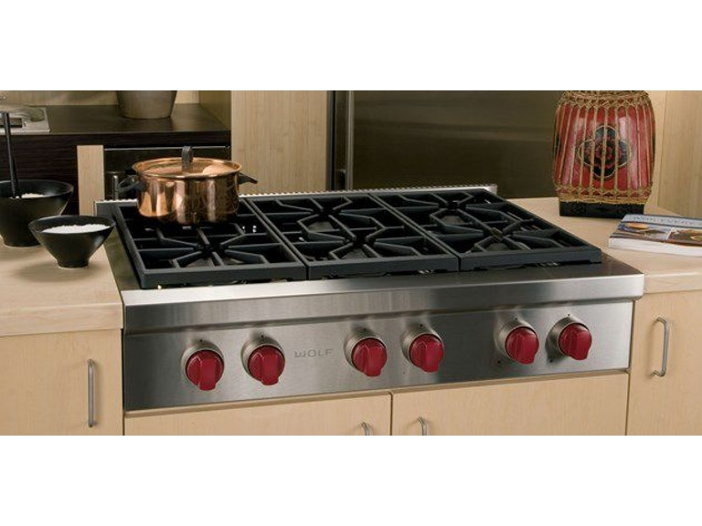 Wolf Kitchen 36 Sealed Burner Rangetop Srt366 Cricket S