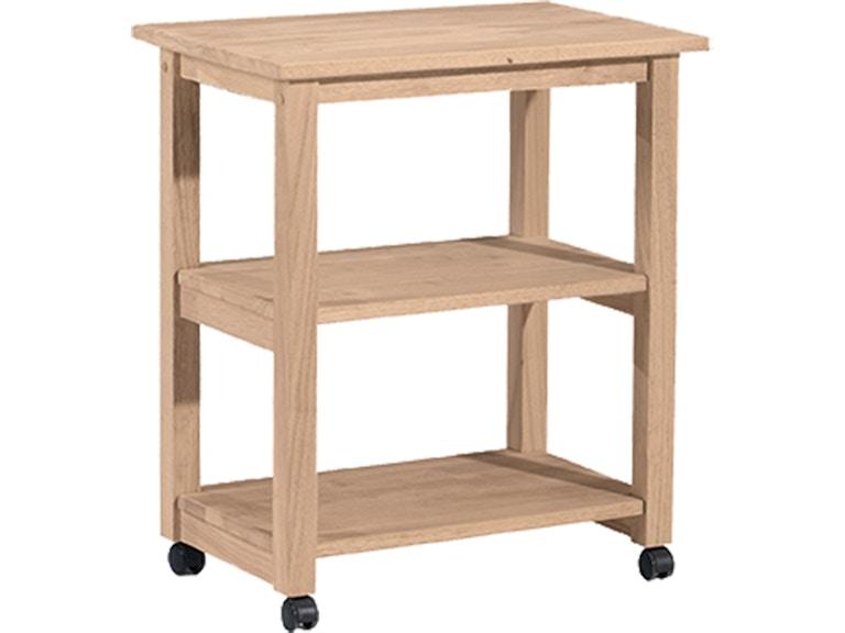 John Thomas Kitchen Microwave Cart 185 - Seaside Furniture ...
