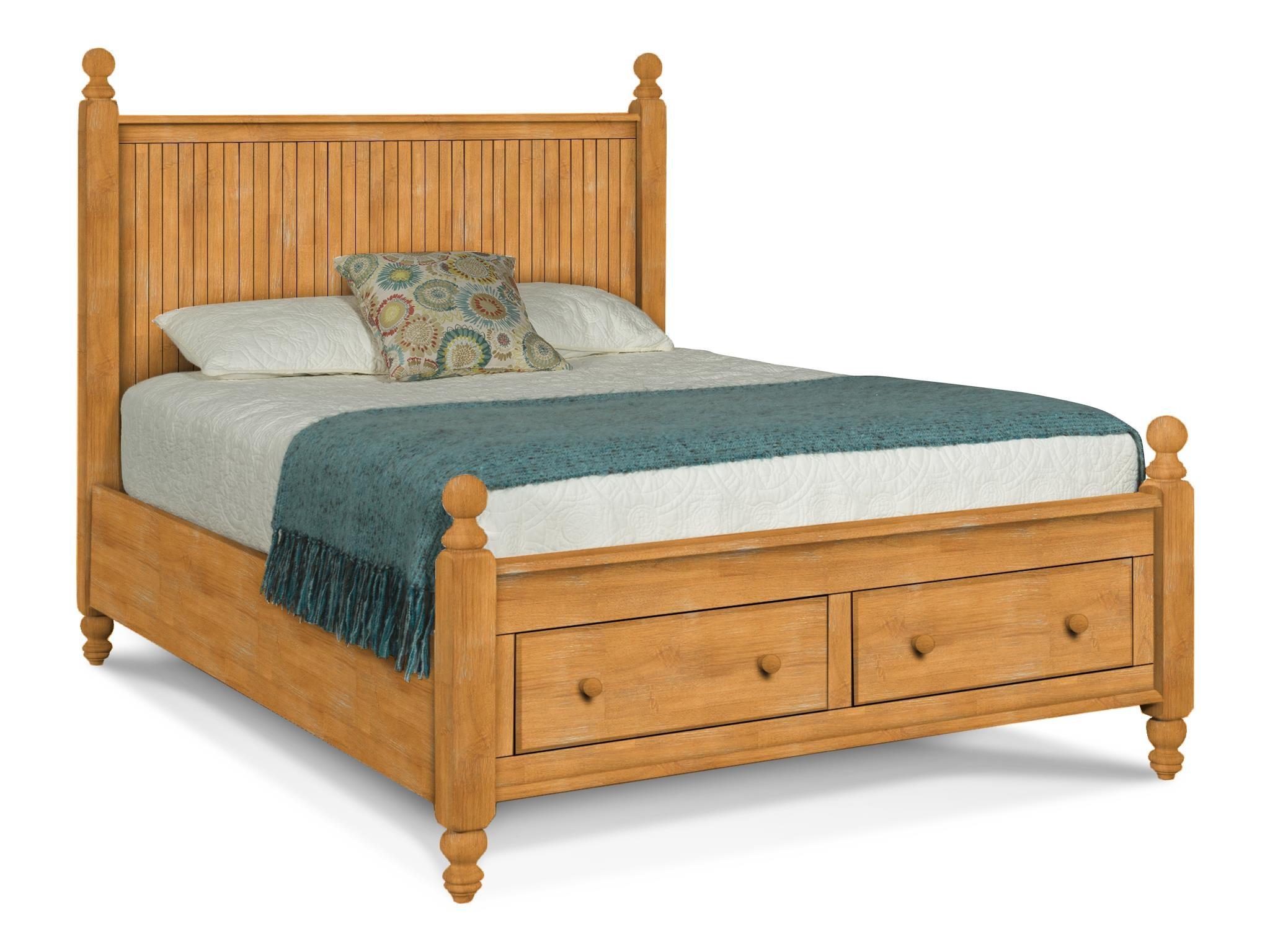 Queen Cottage Storage Bed BD-202QH / BD-202QF / BD-202QD / BD-202QR