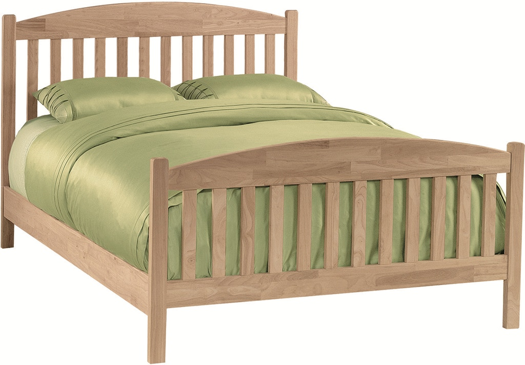 John thomas bedroom queen mission headboard footboard for King s fish house mission valley