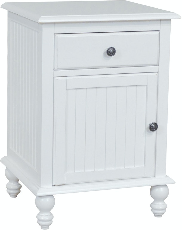 John Thomas Bedroom 1 Drawer Door Nightstand In Beach