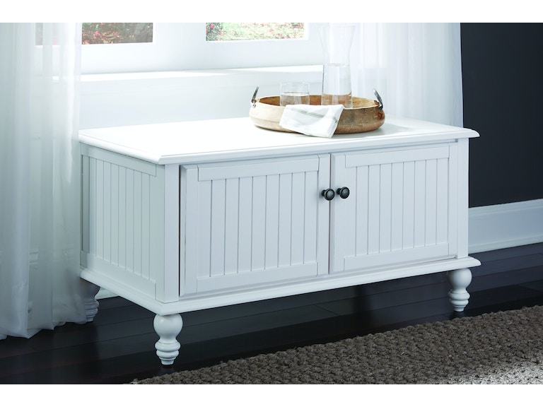 John Thomas Bedroom Blanket Chest in Beach White BD07-201B ...