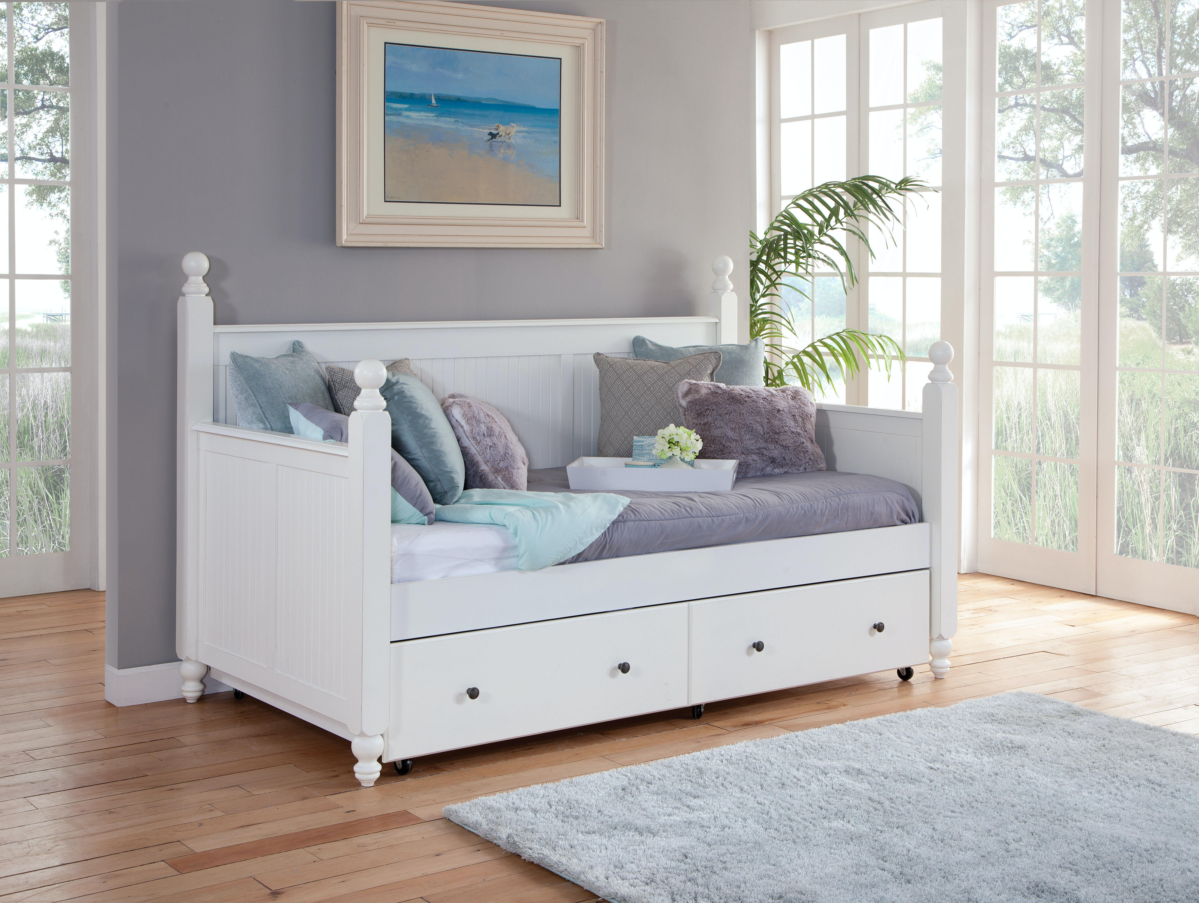 John Thomas Cottage Day Bed W/ Trundle BD07 203DH / BD07 203DE /