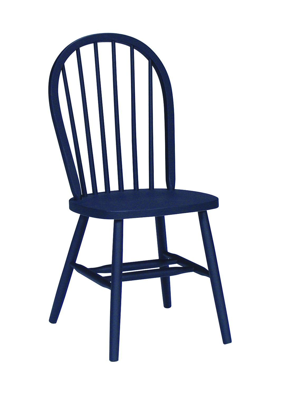 John Thomas Windsor Chair In Black C46 112