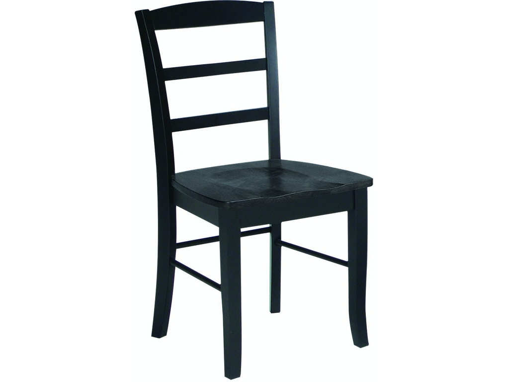 John thomas dining room madrid chair in black c46 2b for Furniture madrid