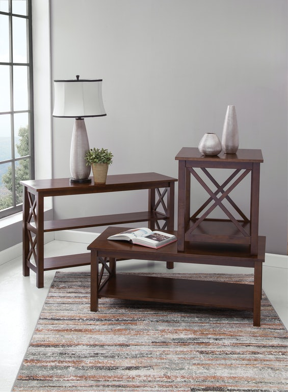 John Thomas Living Room Hampton Coffee Table In Espresso Ot581 70c