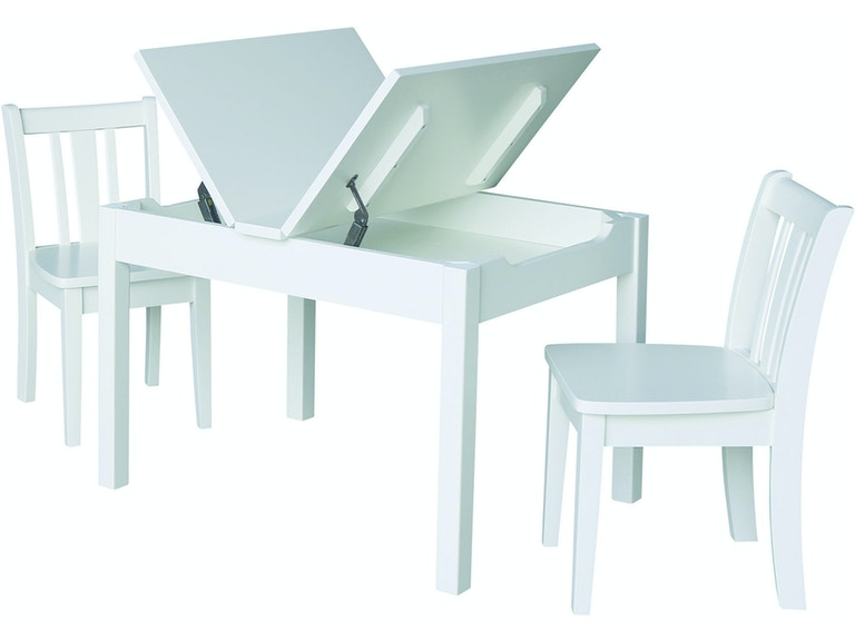 John Thomas Youth Bedroom Mission Lift Top Storage Table and ...