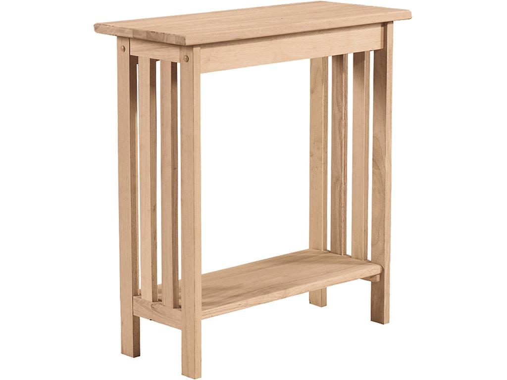 Astounding John Thomas Living Room Mission Entry Table Ot 2812 Rice Dailytribune Chair Design For Home Dailytribuneorg