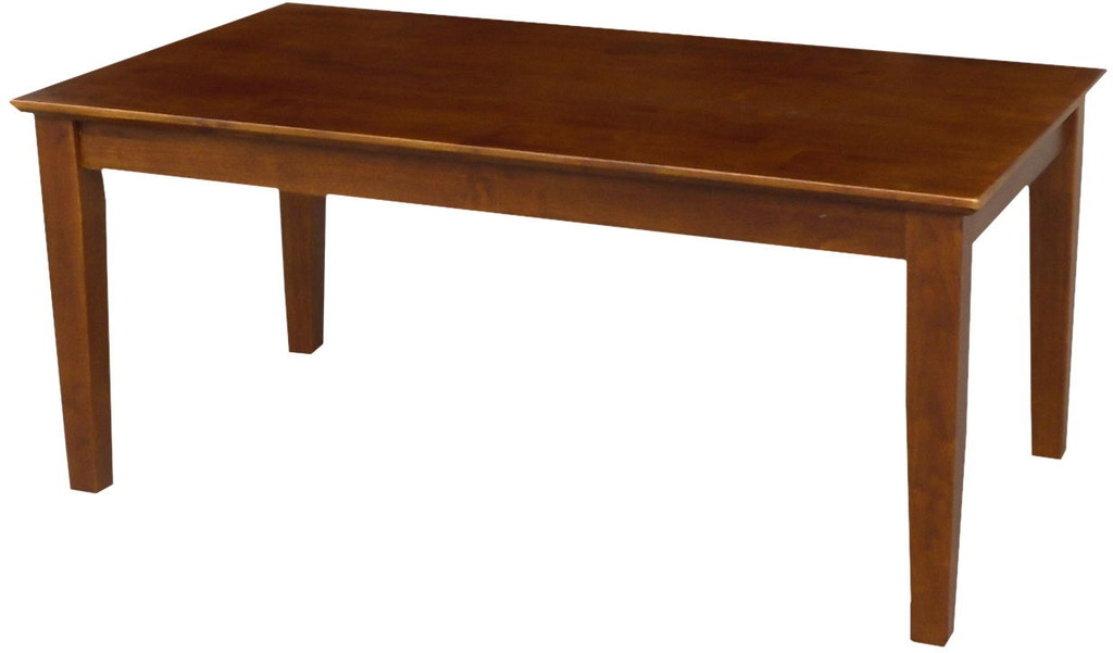 Awesome John Thomas Living Room Shaker Tall Coffee Table In Espresso Home Interior And Landscaping Fragforummapetitesourisinfo