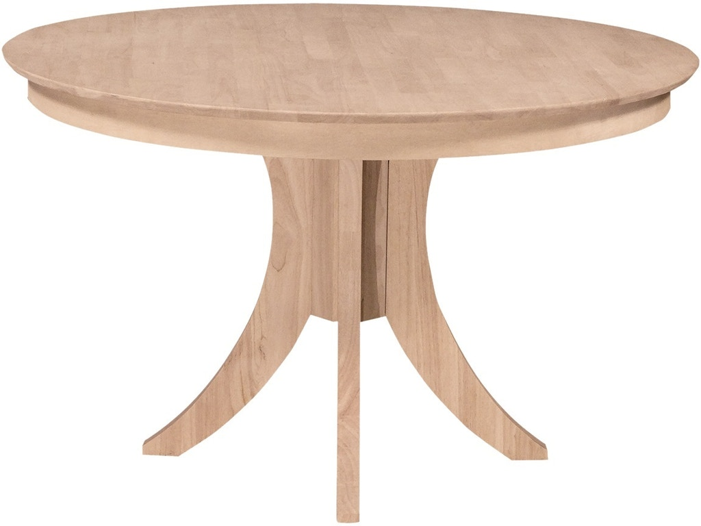 Sienna 48 Round Table Unfinished