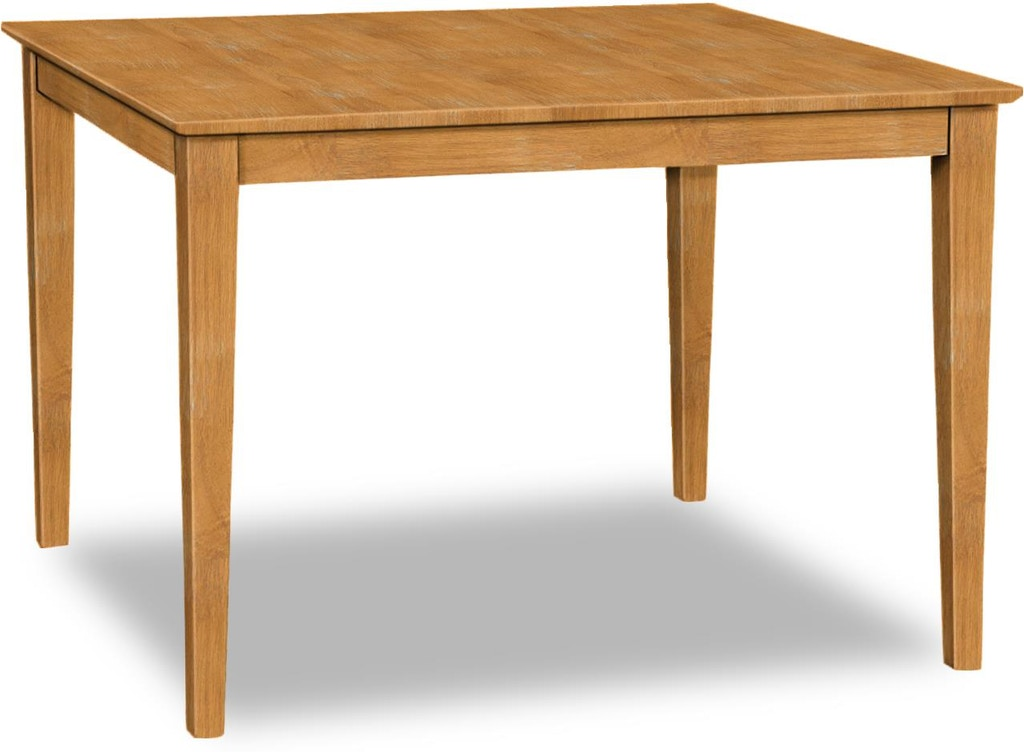 Awesome John Thomas Dining Room Square Table Top Only Shaker Home Interior And Landscaping Fragforummapetitesourisinfo