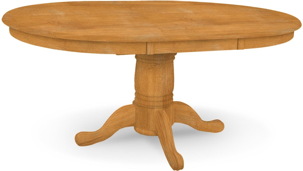 John Thomas Dining Room Butterfly Leaf Pedestal Table Top Only 10 Round Pedestal T 4848xbt