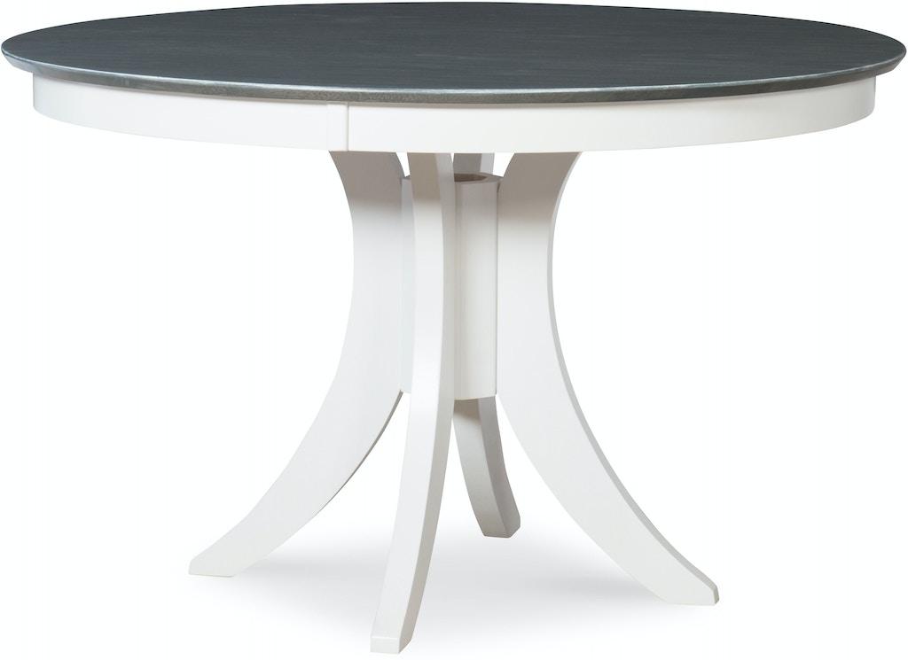 John Thomas Dining Room 30\'\' H Siena Pedestal Table in ...