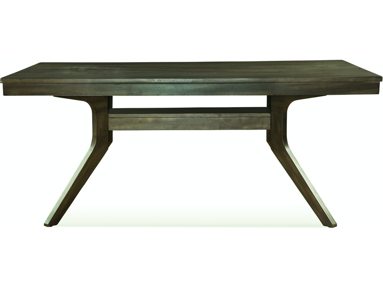 John Thomas Dining Room 40 X 72 Table In Pewter T13 14072 At Carol House Furniture