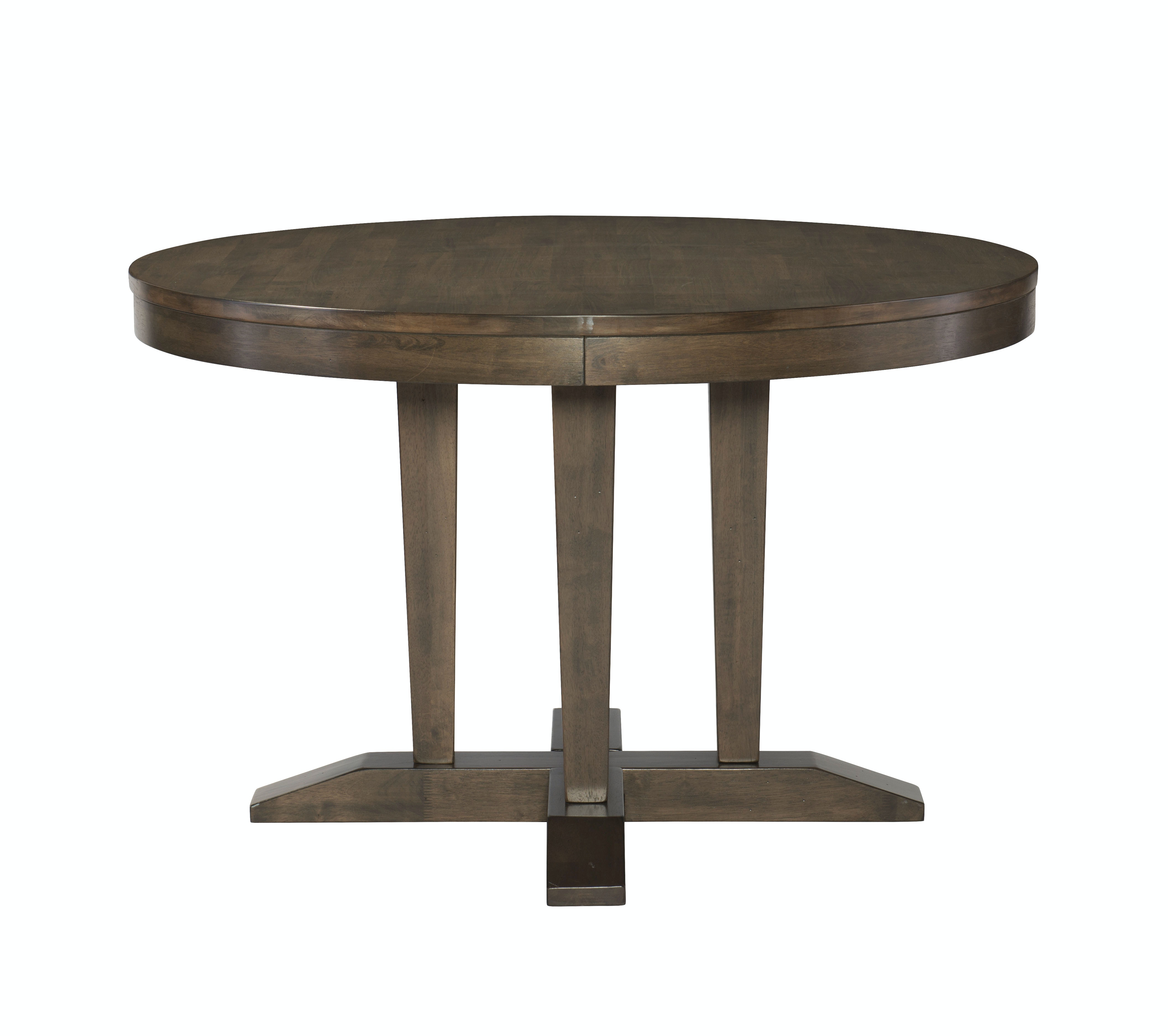 John Thomas Dining Room 48 Round Dining Table In Pewter T13 248