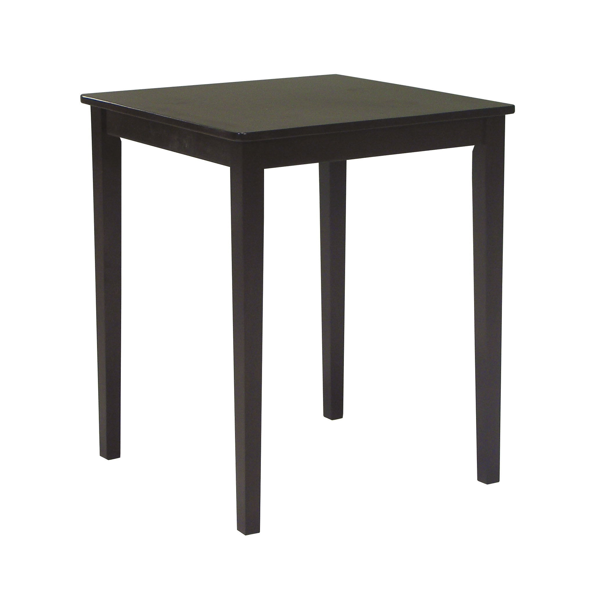 John Thomas Bar And Game Room Square Gathering Table In Rich Mocha