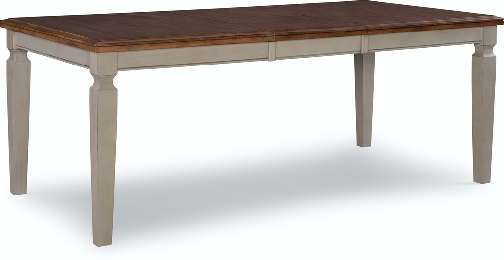 John Thomas Extension Table In Hickory Amp Stone T41 406018xb
