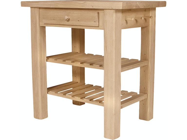 John Thomas Kitchen Island WC-3624 - Rider Furniture - Princeton ...