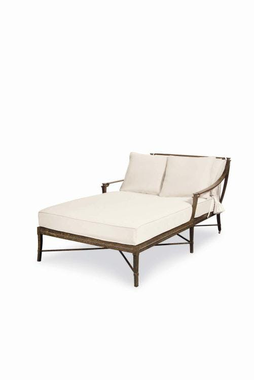 Picture of: Century Furniture Outdoor Patio Double Chaise D12 71 1 Wells Home Furnishings Charleston Wv