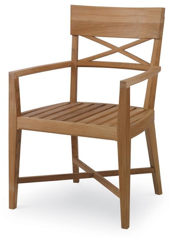 Century Furniture Outdoor Patio West Bay Dining Arm Chair