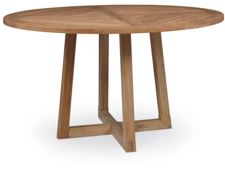 Century Furniture Outdoor Patio West Bay Round Dining Table D43 94 At Warren Barnett Interiors