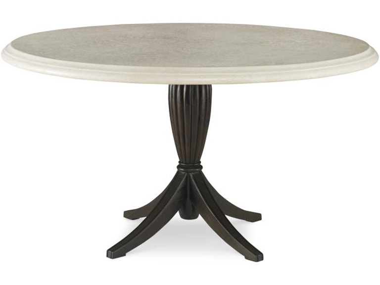Century Furniture Archipelago Dining Table Base With 54 Grc Round Top D11 94 Gry