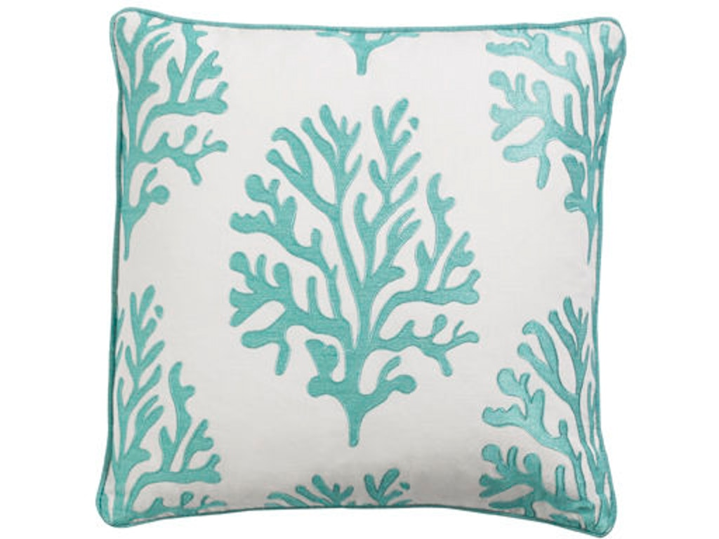 Tommy Bahama Home Accessories 18 Luxdown Throw Pillow 1013-18 - Klaussner Homestore of Raleigh ...