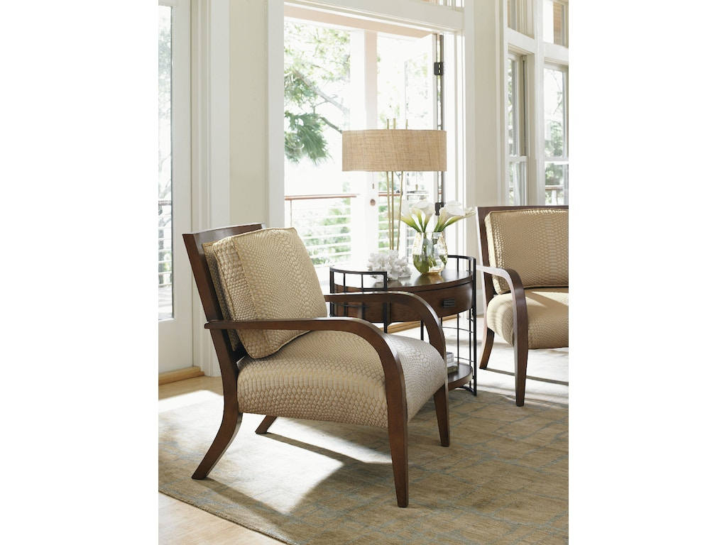 Tommy Bahama Home Living Room Apollo Chair 1560 11 Toms Price Furniture Chicagoland Area