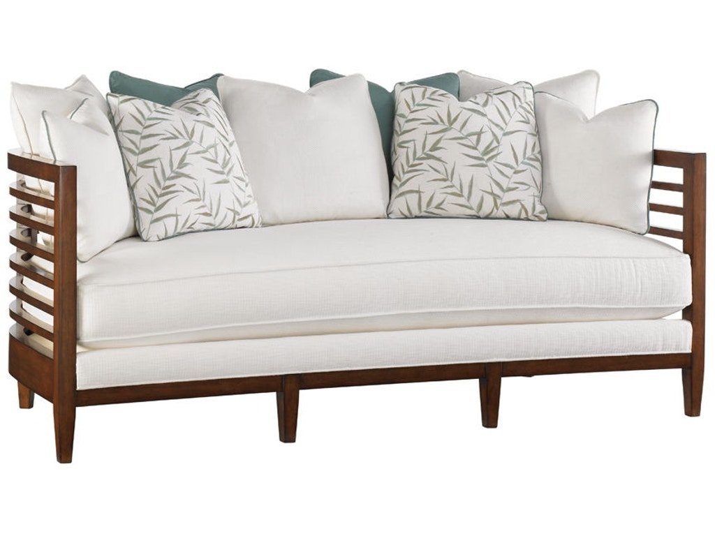 Tommy Bahama Home Living Room St Lucia Sofa 1615 33 Indian River Furniture Rockledge Fl