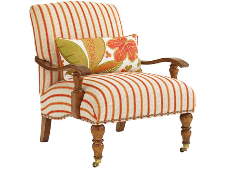 Tommy Bahama Home Living Room San Carlos Chair Sku 1667 11aa Is Available At Hickory Furniture Mart In Nc And Nationwide