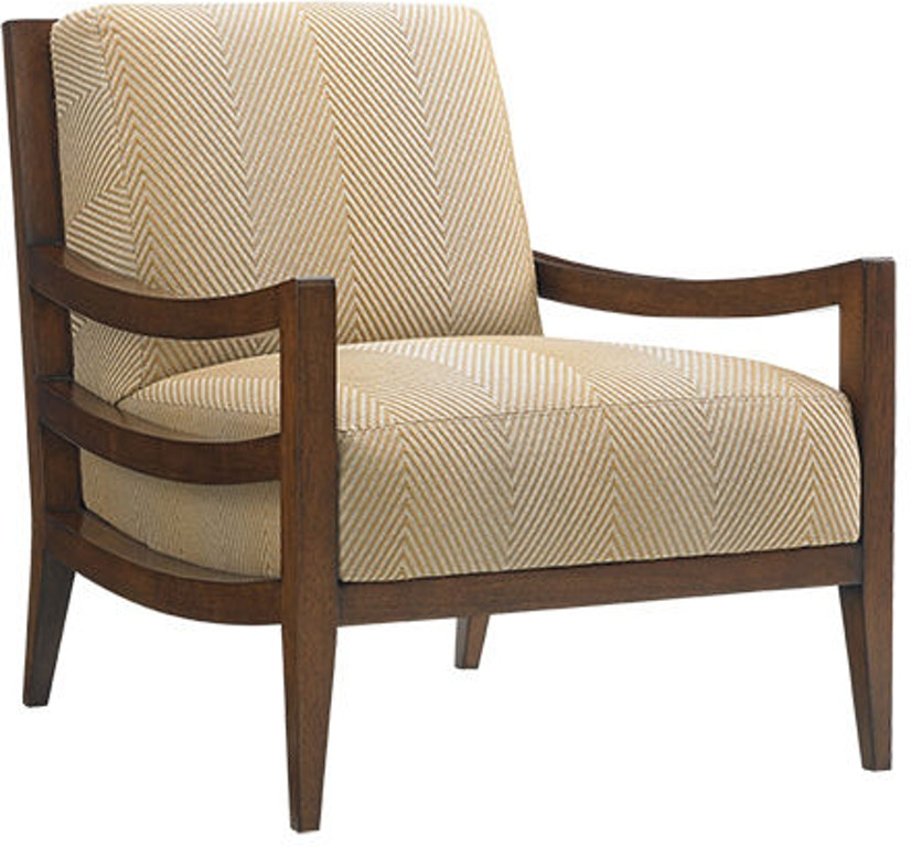 Ashley Furniture Wichita Falls: Tommy Bahama Home Living Room Singapore Chair 1684-11
