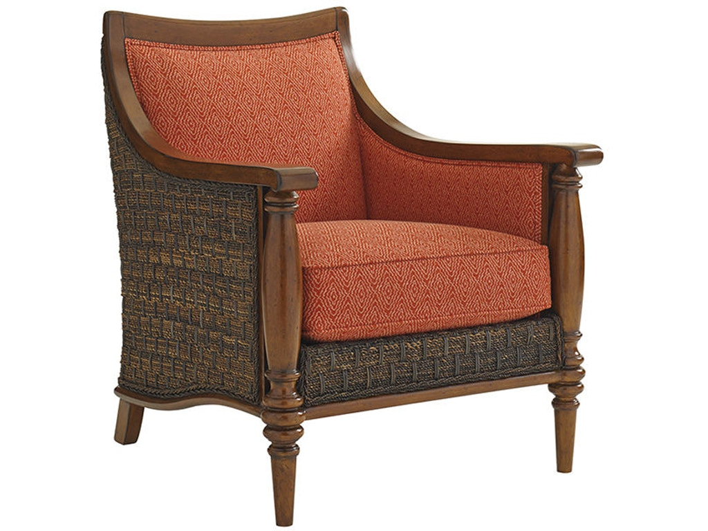 Tommy Bahama Home Living Room Agave Chair 1695 11 Indian