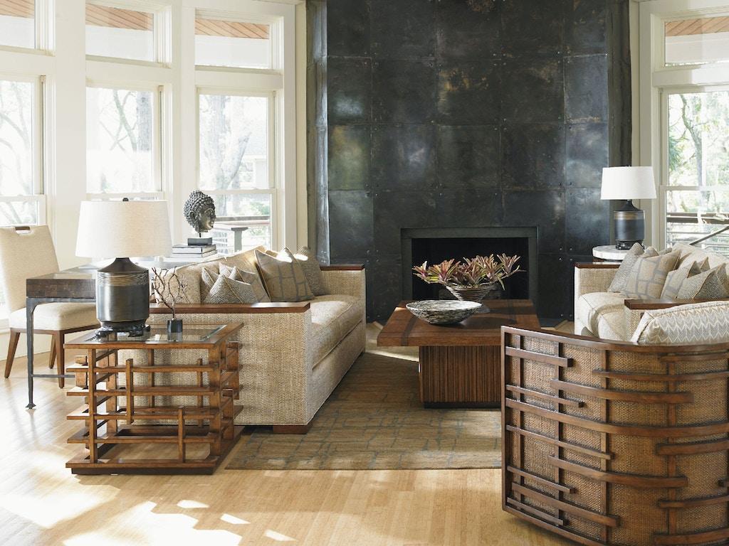 Tommy bahama home fuji sofa 1767 33