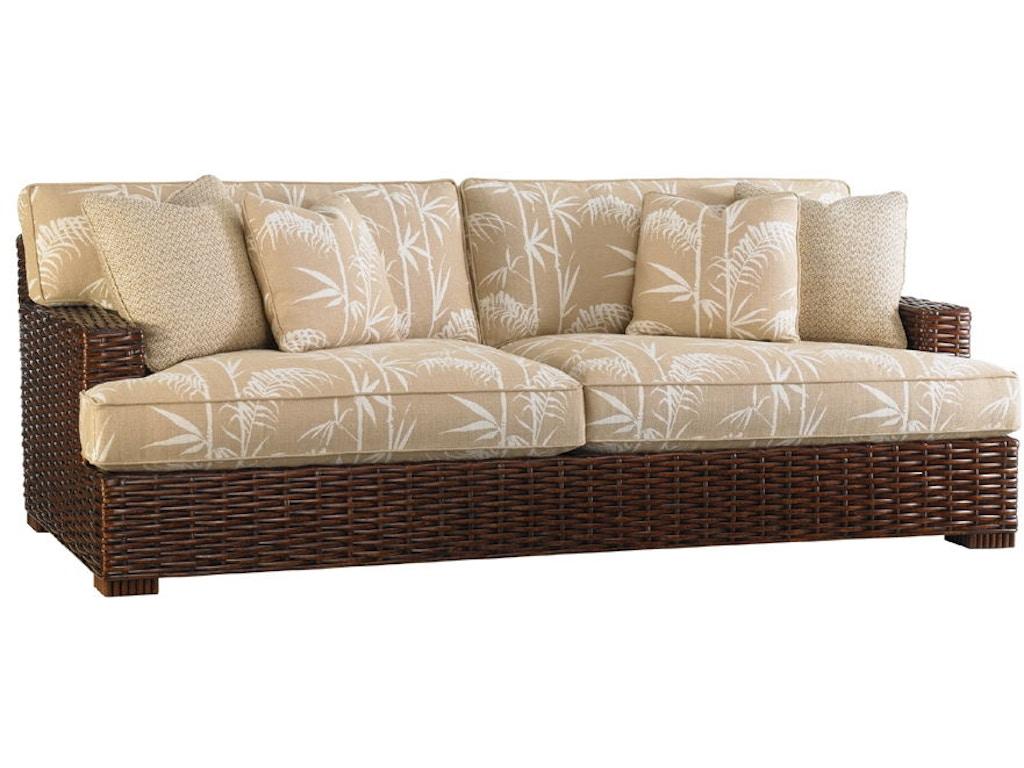Tommy bahama home living room salina sofa 1792 33 for Quality furniture