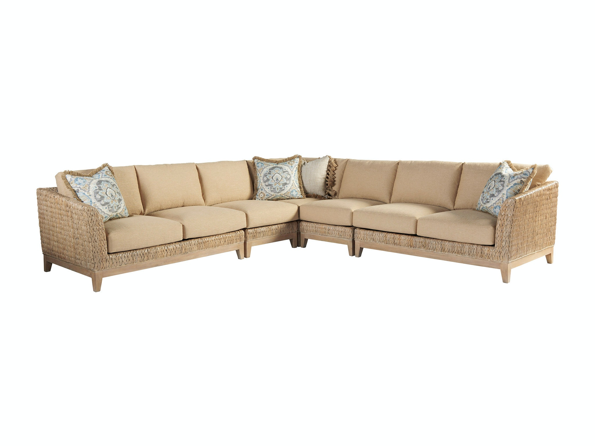 Exceptional Tommy Bahama Home Living Room Brisbane Sectional 1838 Sectional At Bacons  Furniture