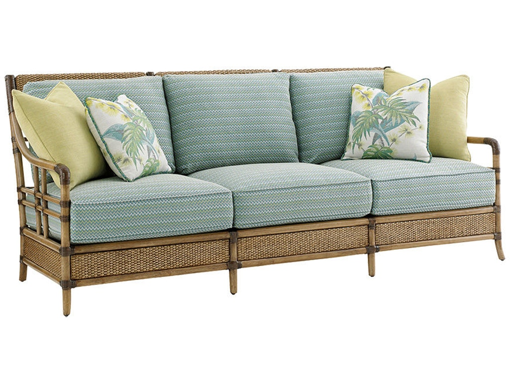 Tommy bahama home living room seagate sofa 1845 33 for Home furniture by design bahamas