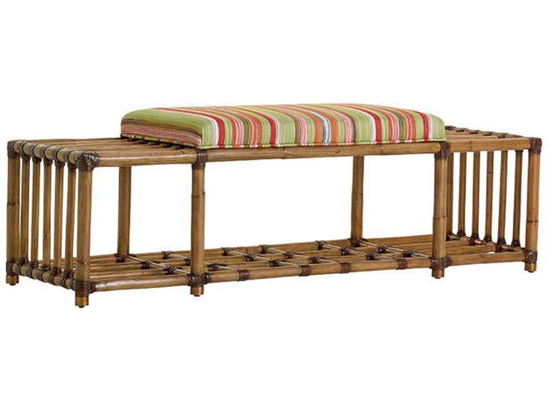 Tommy Bahama Home 1914 25 Seafarer Bench Interiors Camp Hill