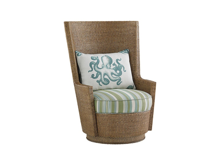 Tommy Bahama Home Lago Mar Swivel Chair 1947-11SW